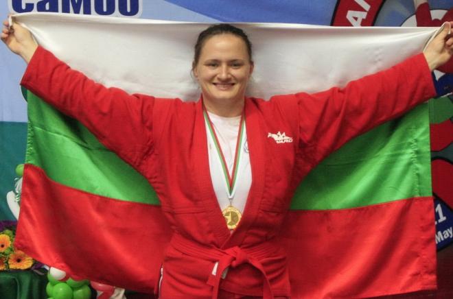 Мария Оряшкова за десети път европейска шампионка