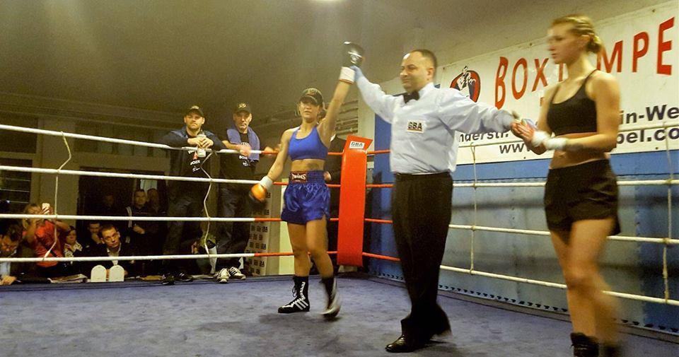 Пламена Димова записа втора победа с нокаут в профи бокса