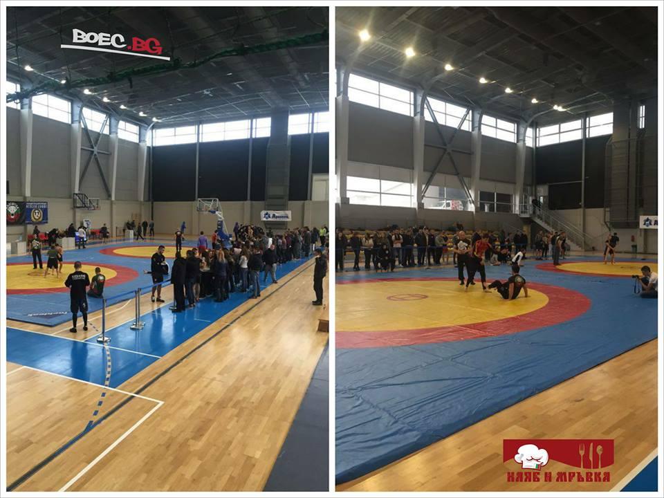 Започна второто издание на българската граплинг лига