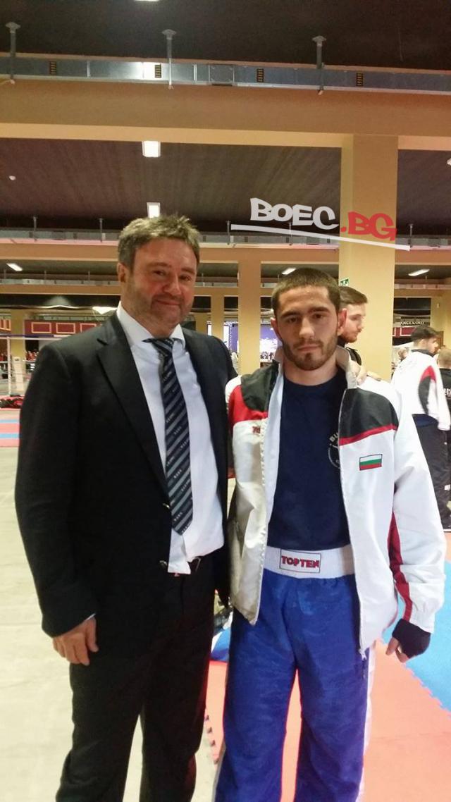 Димитър Ангелов: Очаквам поне два златни медала от Световното по муай тай