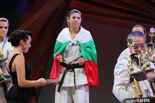 Рожден ден празнува – световната шампионка по карате киокушин Станислава Бойчева