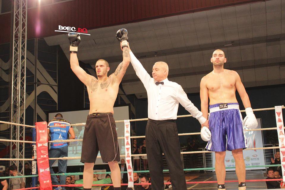 Филип Филипов с убедителен успех над арменец на Max Fight 37