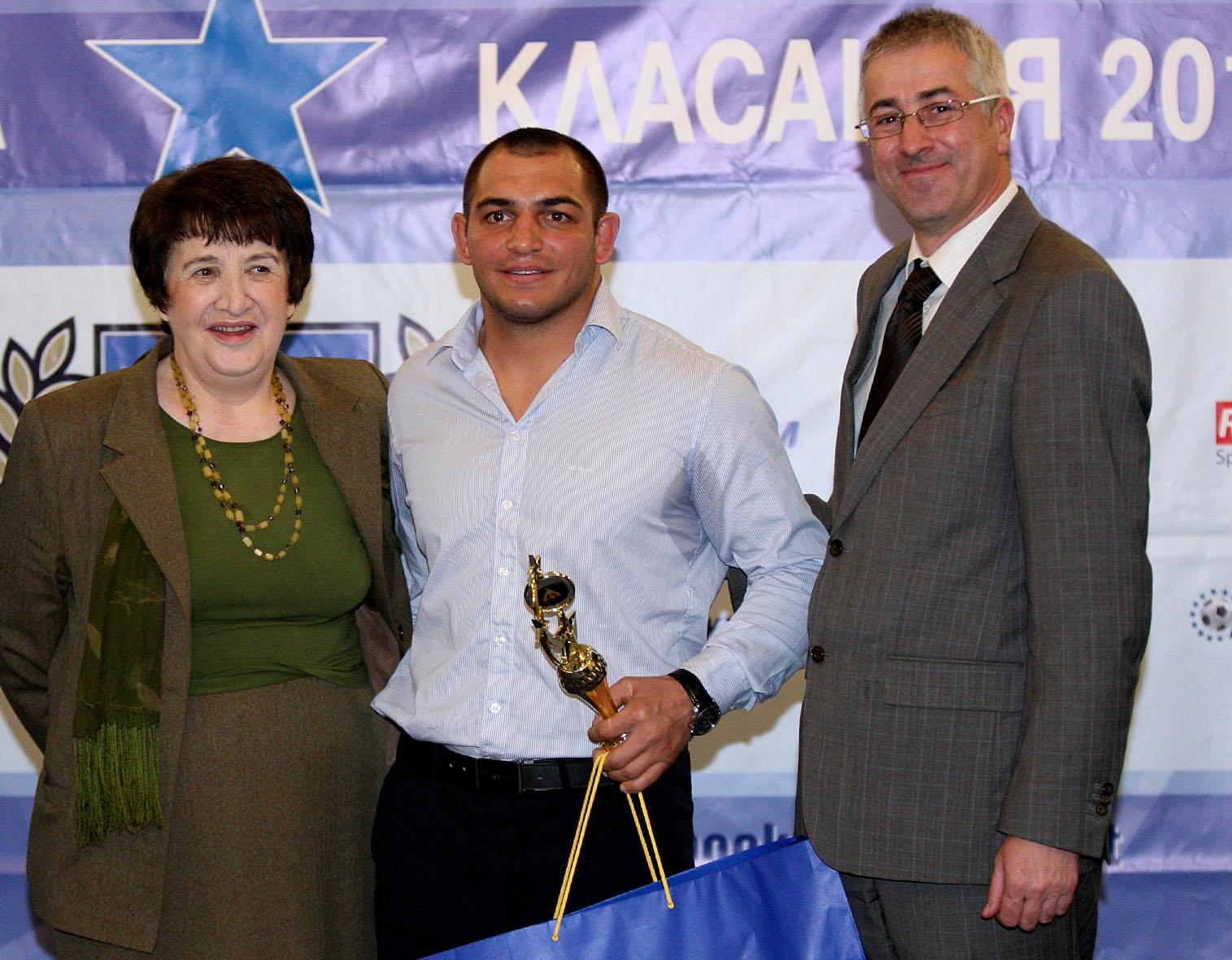 Михаил Ганев бе избран за спортист № 1 на Левски за 2015-а