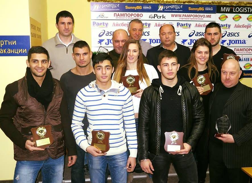 Федерацията по джудо раздаде годишните си награди