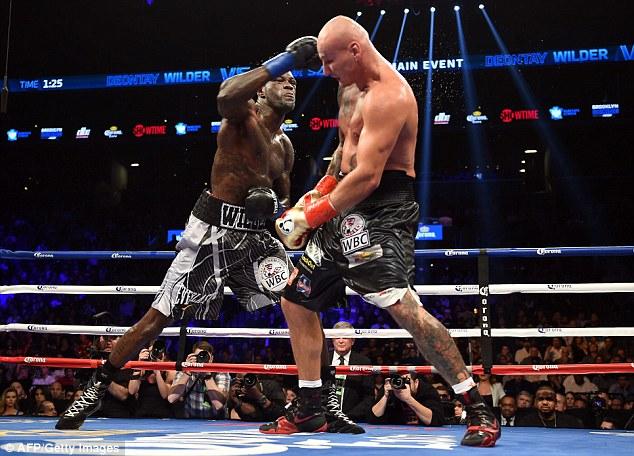 Непобеден боксьор се изправя срещу Уайлдър
