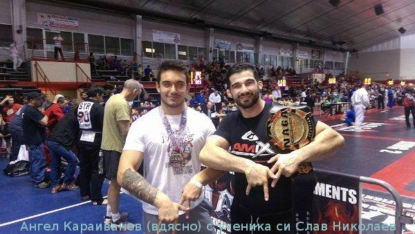 Световният шампион Ангел Караиванов: Искам още титли