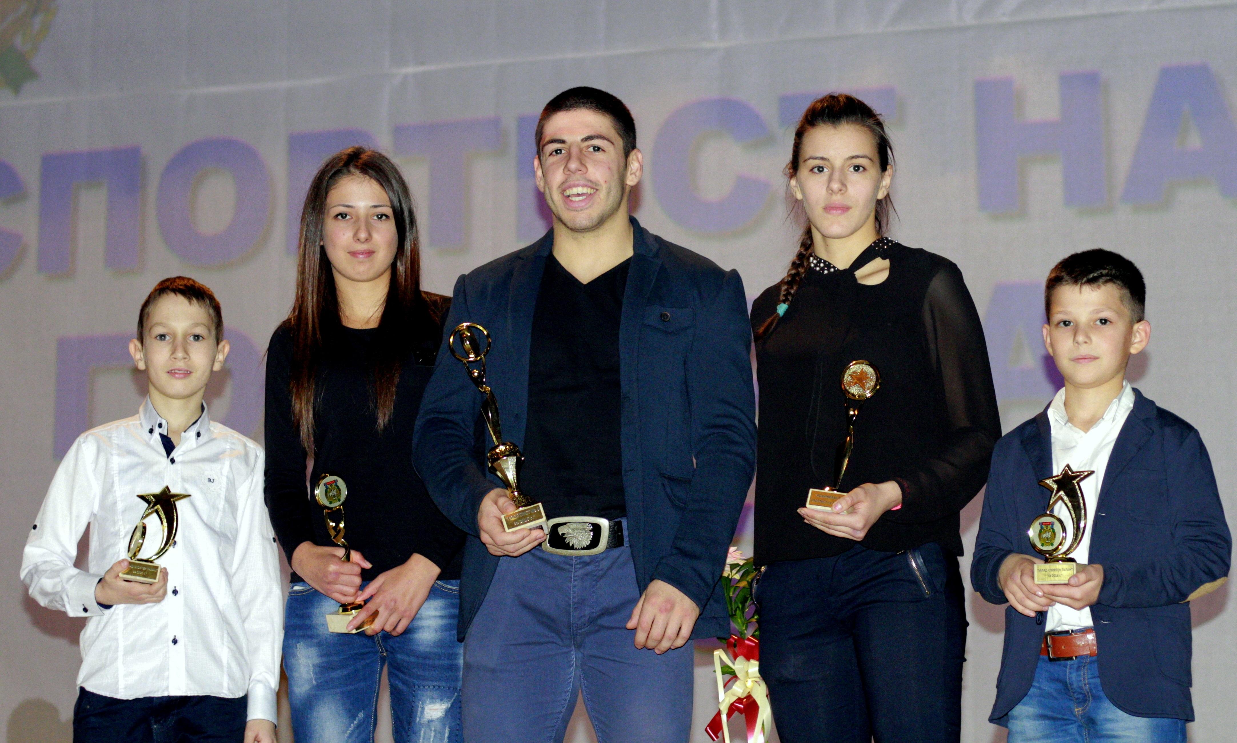 """Десет състезатели от БККФ намериха място в """"Спортист на годината"""" в различни градове"""