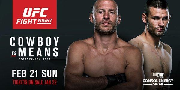 Cowboy vs Means е гвоздеят в програмата на UFC Fight Night 82
