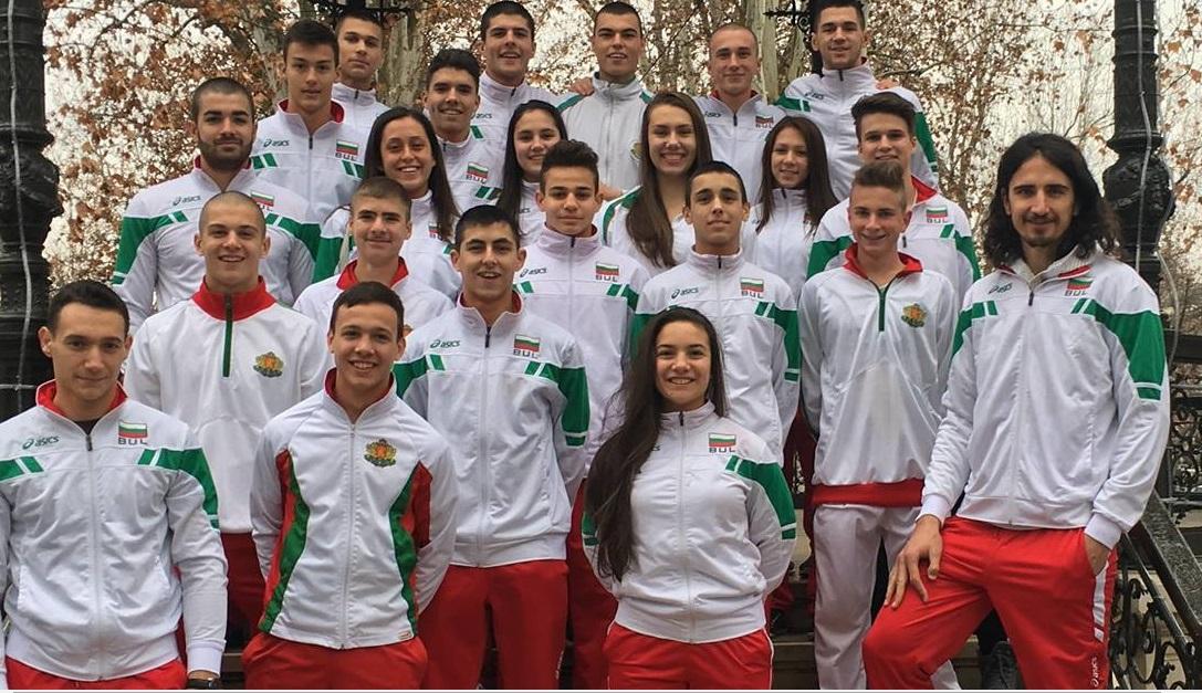 Националите по карате се завърнаха с пет медала от Хърватия