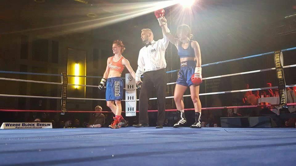 Българската гордост Пламена Димова с нова победа в профи бокса (ВИДЕО)