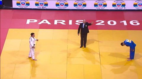 Ивайло Иванов със сребро от Judo Grand-Slam Paris 2016