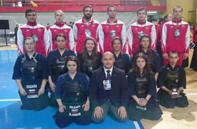 """Кендо федерацията изпрати пълен отбор на европейско благодарение на """"Асоциация на Бойните Спортове"""""""