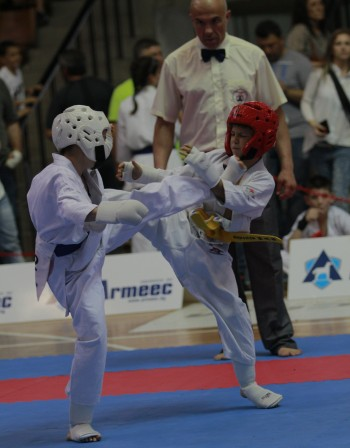 Над 180 деца взеха участие на Държавното първенство по карате киокушин