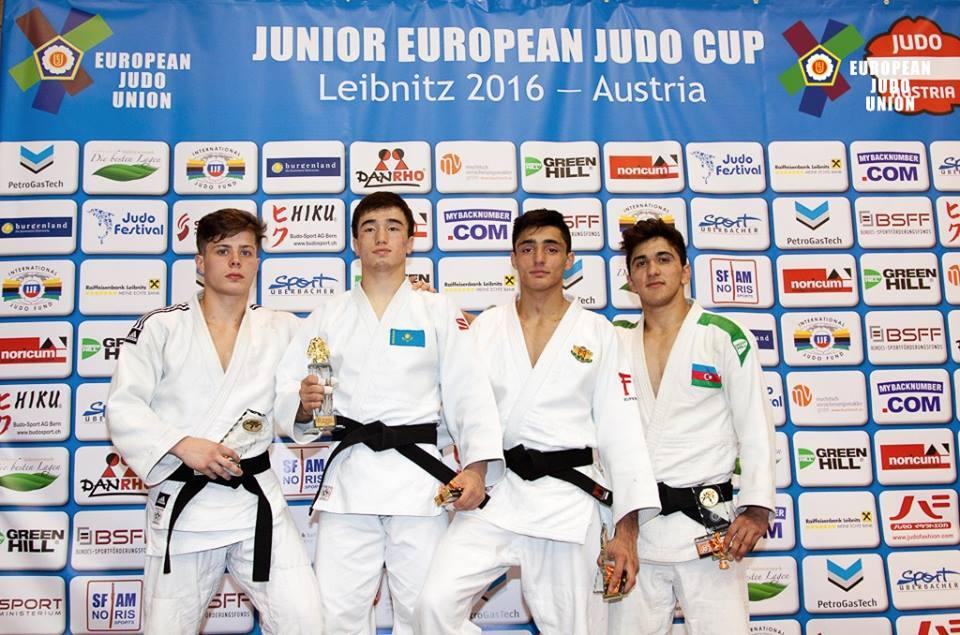 Денислав Иванов с бронзов медал от Европейската купа по джудо