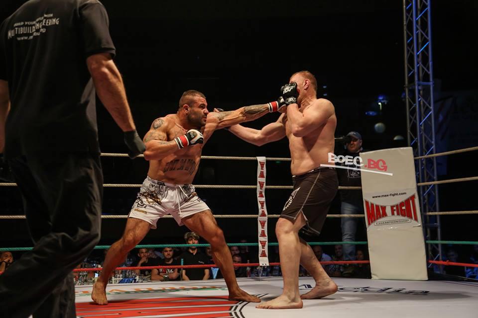 Симеон Кючуков прекърши румънски гигант на MAXFIGHT 38