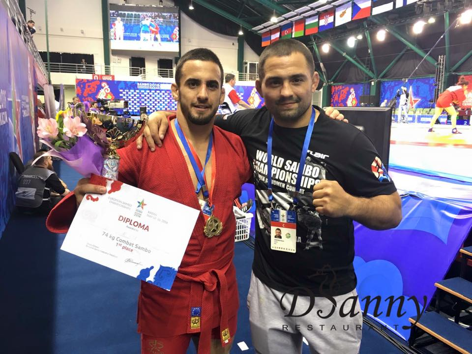 Валентин Бенишев стана европейски шампион по бойно самбо!