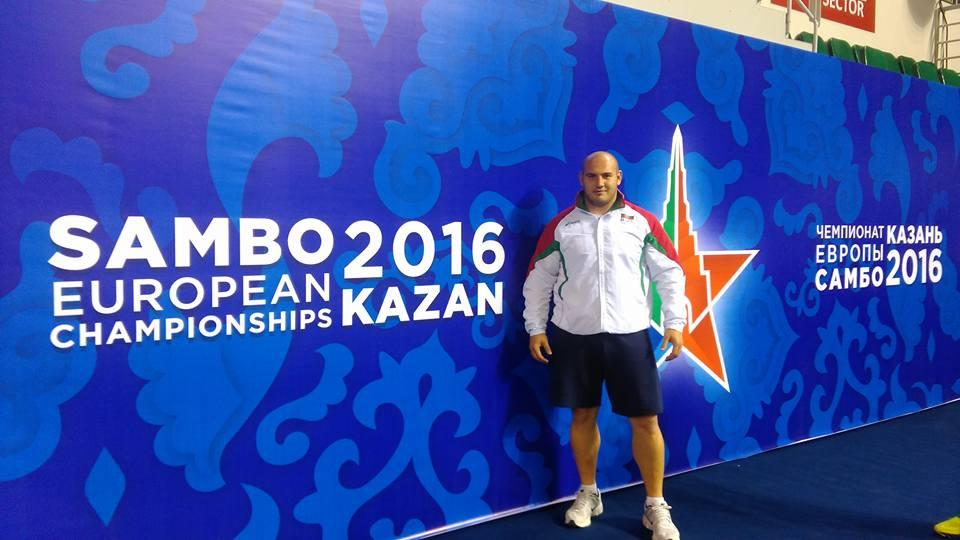 Мартин Маринков със сребърен медал от Казан