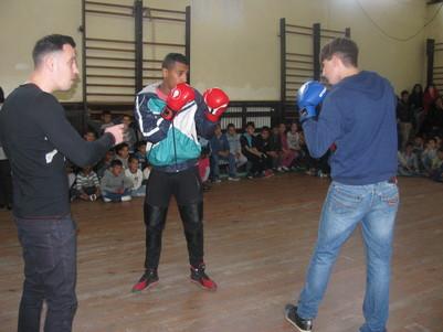 Детелин Далаклиев проведе открит урок по бокс