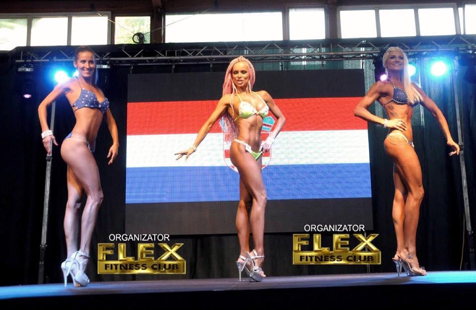 Анн-Джи стана балканска шампионка по фитнес (СНИМКИ)