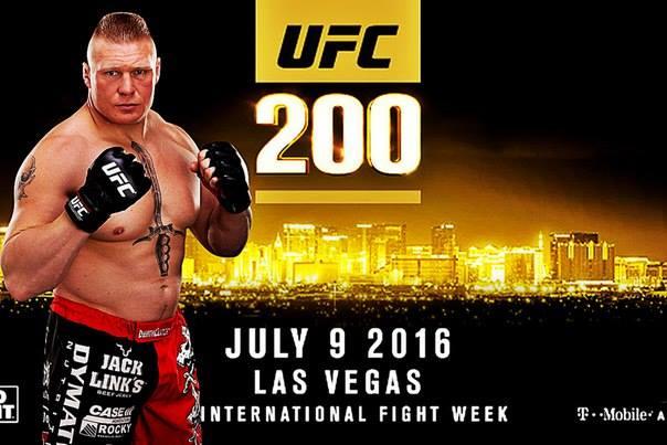 Брок Леснър ще се бие на UFC 200
