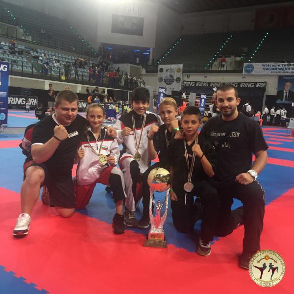 """Българските децa триумфираха със златото в турнира """"Best Fighter"""" 2016 (СНИМКИ)"""