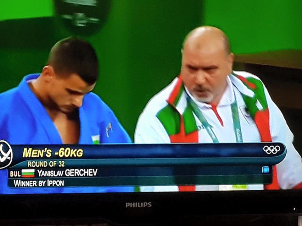Янислав Герчев тръгна с победа на ОЛИМПИАДАТА в РИО!