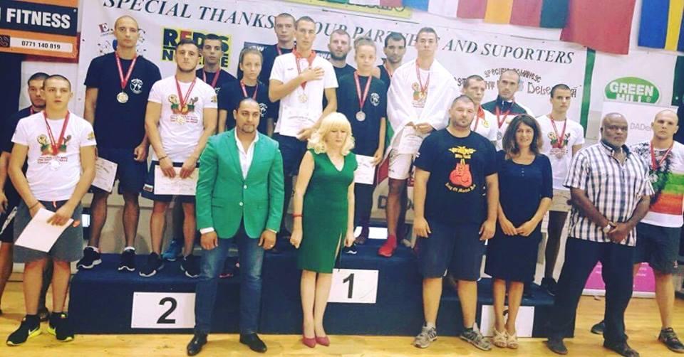 Още златни отличия от европейското първенство по муай тай в Румъния