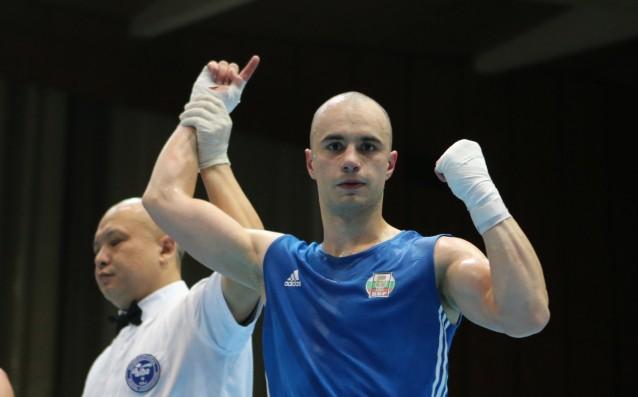 Родна победа в бокса, Чамов строши от бой турчин