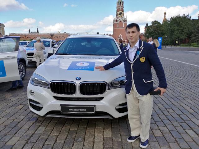 104 бели BMW-та за руските олимпийци (СНИМКИ)