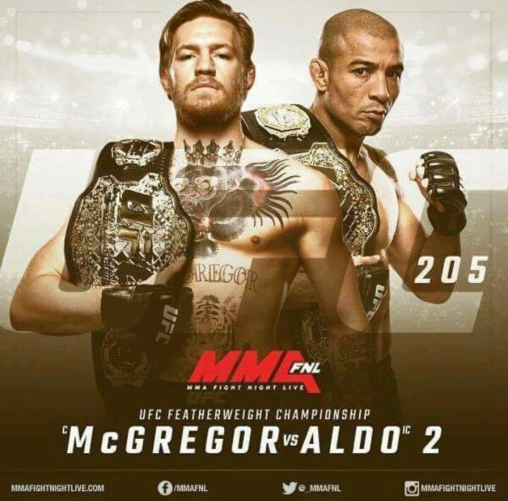 McGregor срещу Aldo – 2 реваншът