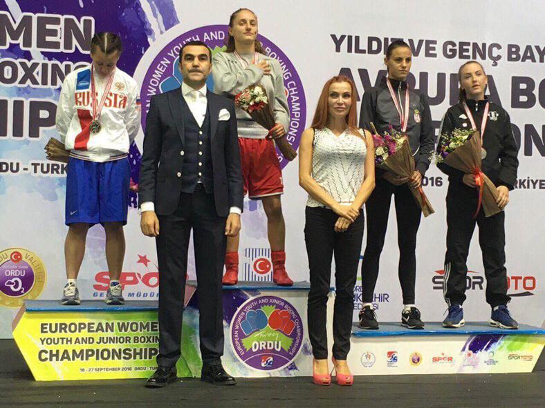 Имаме европейска шампионка! Еми-Мари Тодорова в кат. до 48 кг за девойки