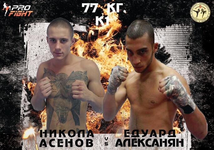 ULTIMATE PRO FIGHT 6: Никола Асенов срещу Едуард Алексанян