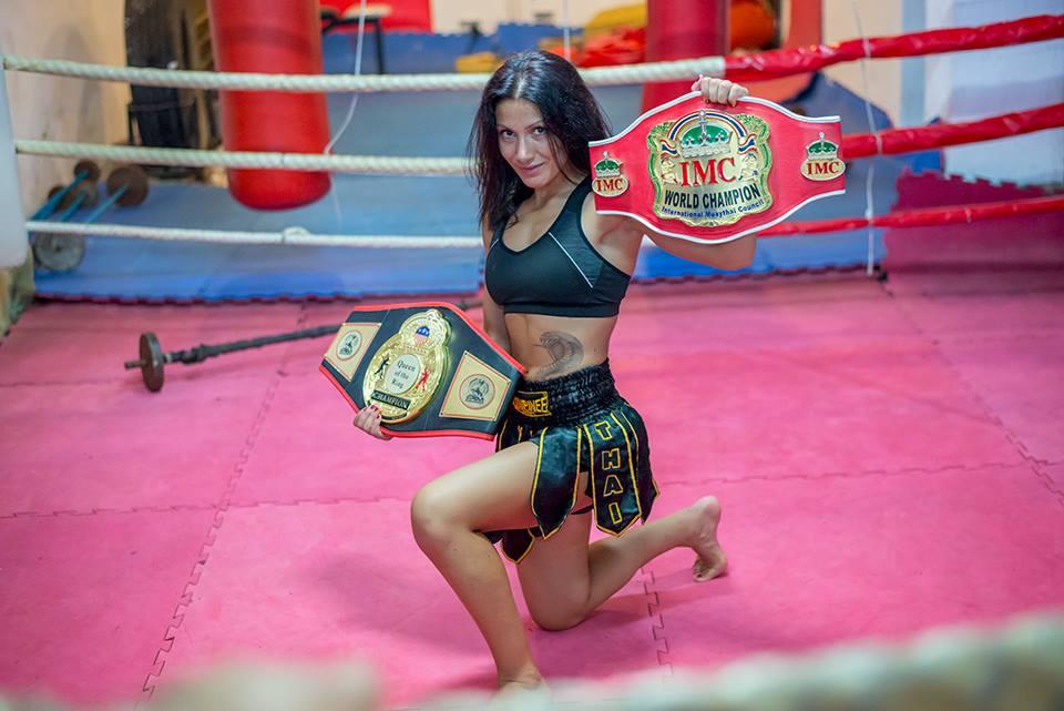 Пламена Димова стана световен шампион по бокс за професионалисти (ВИДЕО)
