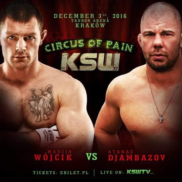 Атанас Джамбазов ще се бие във веригата KSW на 3-ти декември