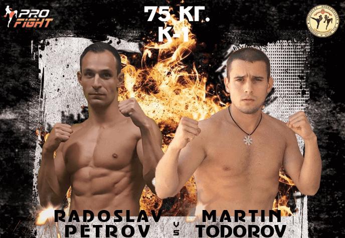 ULTIMATE PRO FIGHT 6: Нощта на истината представя: Радослав Петров срещу Мартин Тодоров