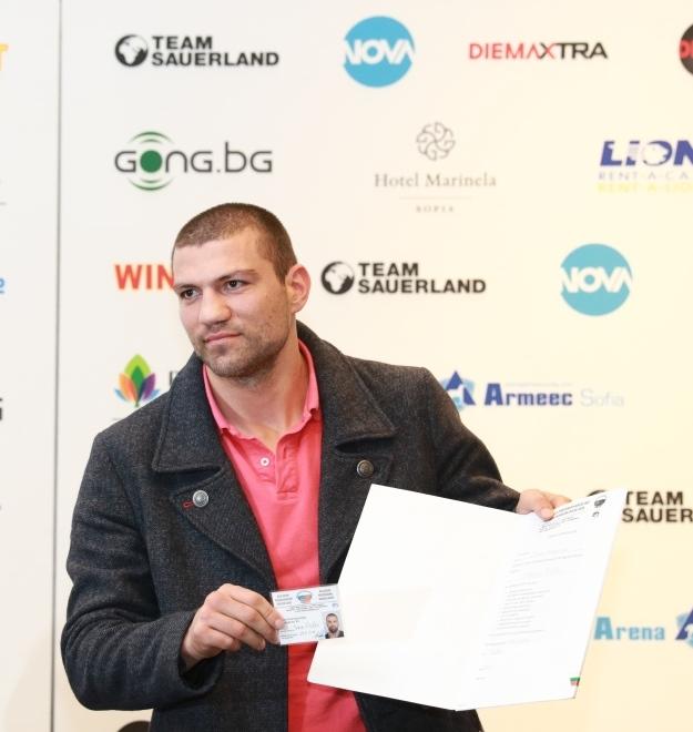 Тервел Пулев излиза отново на ринга в Берлин
