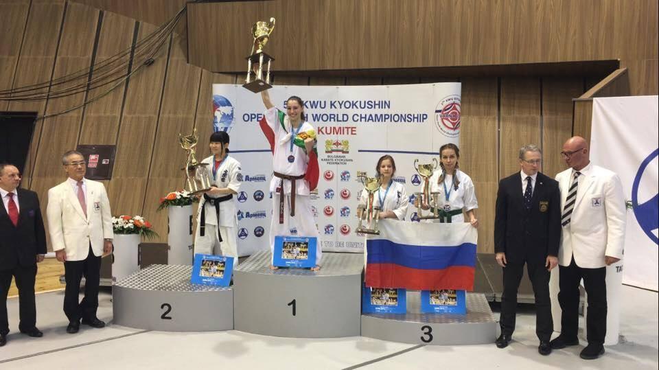 3 световни титли и общо 11 отличия за националите по киокушин във Варна