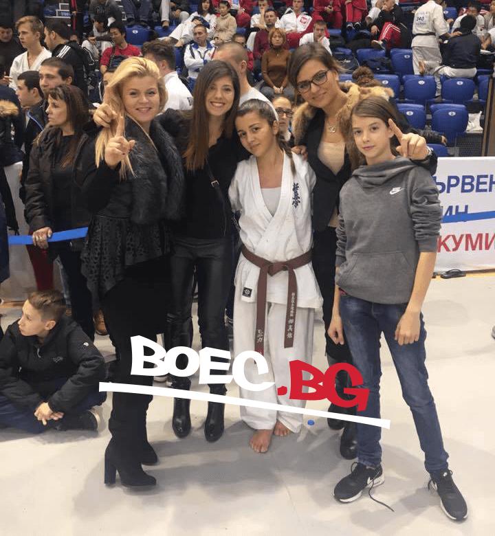Моника Димитрова – Световна шампионка по киокушин във Варна