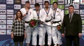 Ивайло Иванов с бронзов медал от Гран При в Дюселдорф
