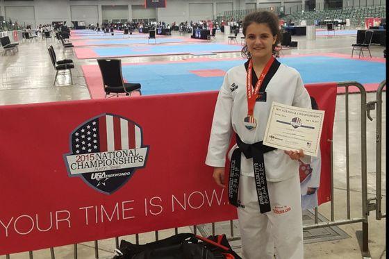 Българка със златен медал по таекуондо в САЩ