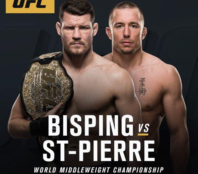 Сен Пиер се завръща с двубой за титлата срещу Биспинг