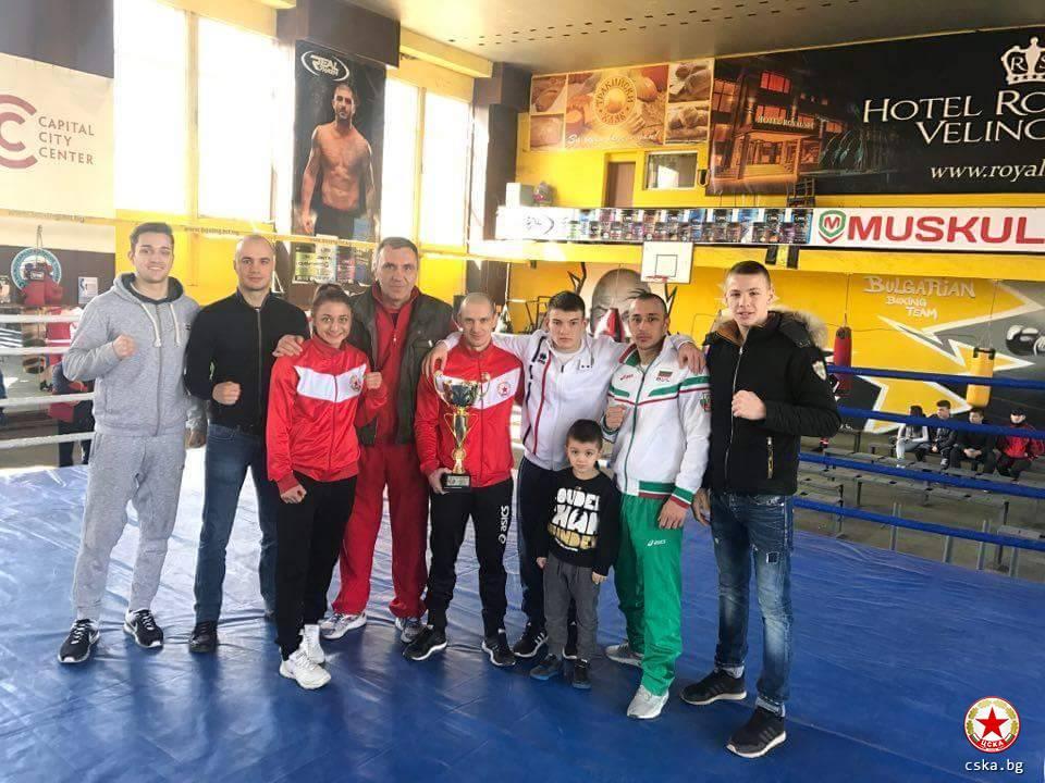 Боксовият ЦСКА с рекордна титла на България