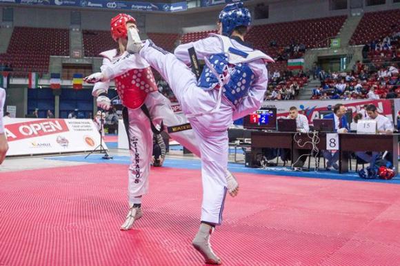 София чупи рекорди в европейското таекуон-до
