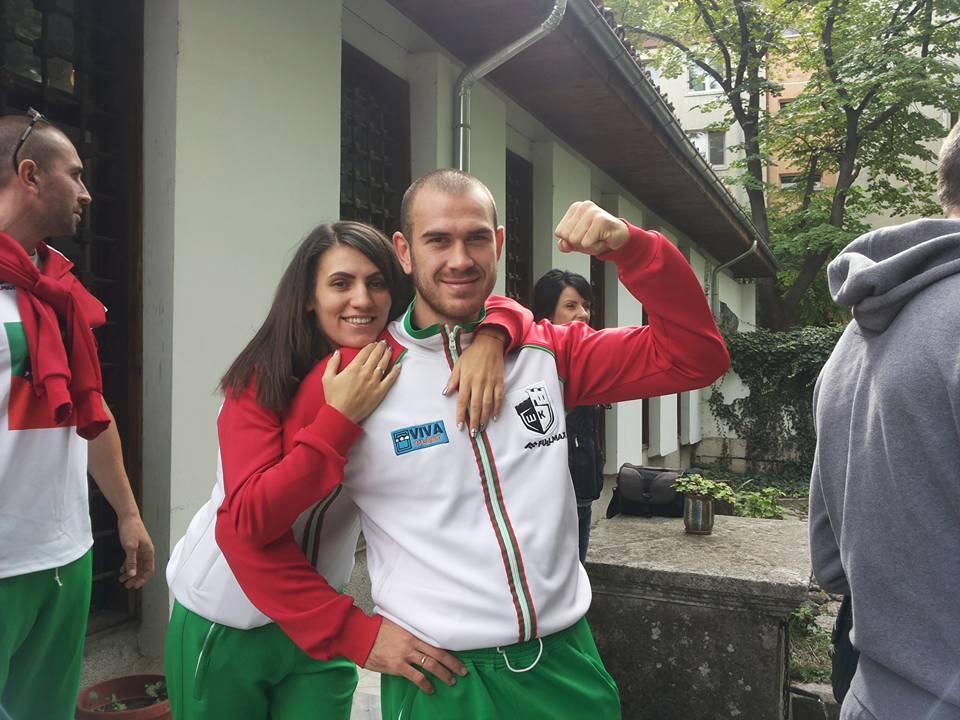 Световният и европейски шампион Християн Тотев стана баща