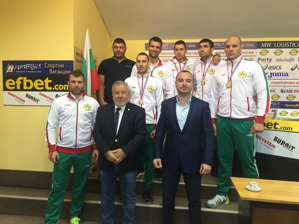 Пресконференция на националния отбор по муай тай за провелото се Световно първенство