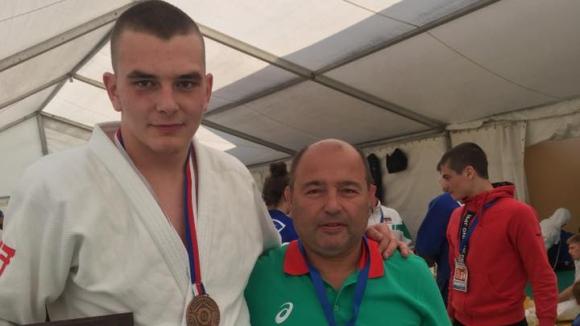 Ивайло Димитров с бронзов медал от Европейската купа