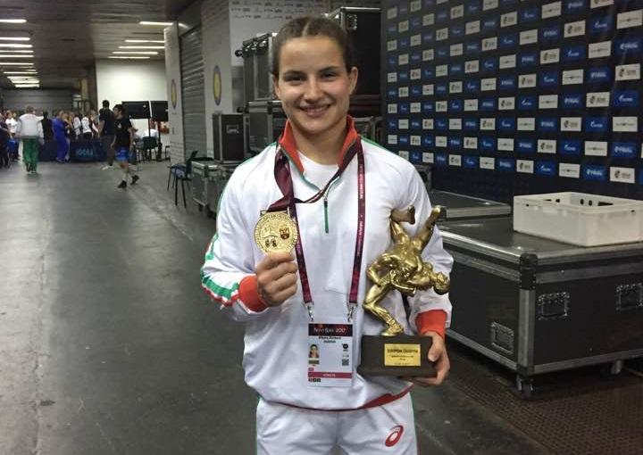 Злато за България на Европейското по борба!