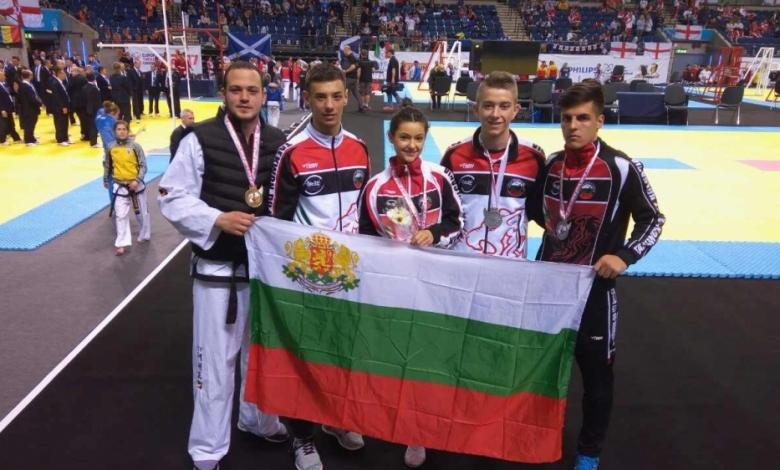 България трета в Европа по Таекуон-До ITF