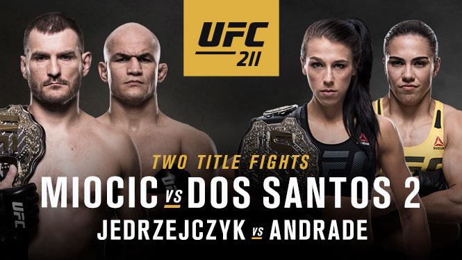 Резултати от UFC 211