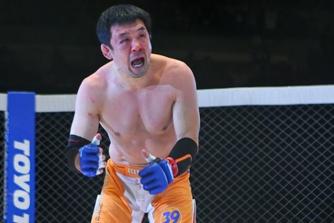 Легендарният Казуши Сакураба влиза в Залата на славата на UFC